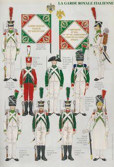 MINIATURAS MILITARES POR ALFONS CÀNOVAS: LA INFANTERIA ITALIANA 1800-1812,- 2º PARTE,. = fuente Andre JOUINEAU.
