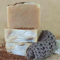 Rooibos honey handmade soap