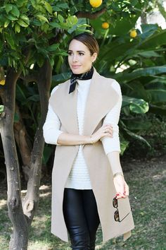 How To Layer Neutrals for a Mild Winter | Fall fashion ideas by Louise Roe