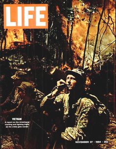 Life Magazine Copyright 1964 Vietnam Americans Fighting - www.MadMenArt.com…