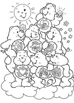 Care Bears Coloring Pages To PrintFree PagesKids