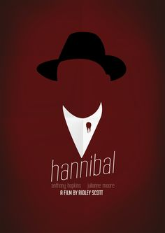 Hannibal (2001) ~ Minimal Movie Poster by Jan Wurtmann
