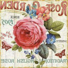 Vintage Diy, Images Vintage, Decoupage Vintage, Decoupage Paper, Vintage Crafts, Vintage Labels, Vintage Pictures, Vintage Paper, French Typography
