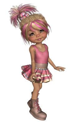 Bratz, Little Designs, Anime Dolls, Paint Shop, Fairy Dolls, Illustration Girl, Pictures To Paint, Cute Dolls, Girl Cartoon