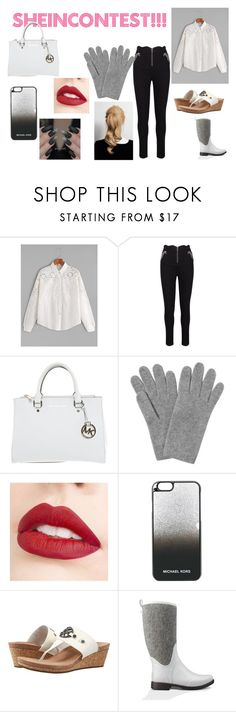 """""""#SHEINCONTEST"""" by coliverstar ❤ liked on Polyvore featuring Michael Kors, L.K.Bennett, Jouer, MICHAEL Michael Kors and UGG"""