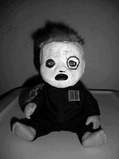 Little Slipknot doll #Slipknot