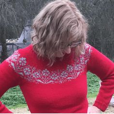 Kerry in red