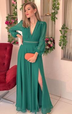 Shop Sexy Trending Dresses – Chic Me offers the best women's fashion Dresses deals Long Sleeve Mermaid Dress, Prom Dresses Long With Sleeves, Cute Dresses, Casual Dresses, Fashion Dresses, Fashion Jeans, Beautiful Dress Designs, Beautiful Dresses, Style Feminin