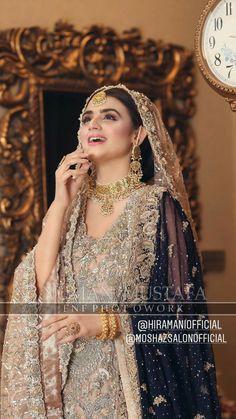 The latest wedding dresses at Bridal Fashion Week – My hair and beauty Pakistani Fashion Party Wear, Pakistani Bridal Makeup, Pakistani Wedding Outfits, Pakistani Dress Design, Pakistani Dresses, Shadi Dresses, Indian Outfits, Asian Bridal Dresses, Asian Wedding Dress