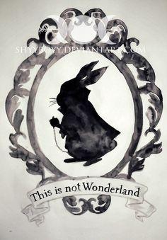This is not Wonderland by ShyyBoyy on DeviantArt