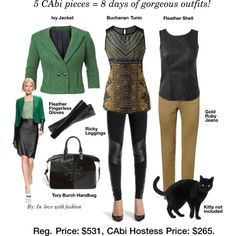 CAbi Fall '13~ 5 pieces 8 days of gorgeous outfits ...Plus the Cat! http://jamiefox.cabionline.com