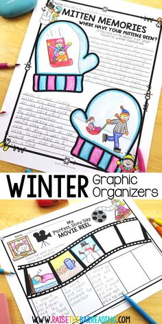 No Prep Winter Activities for the Elementary Classroom