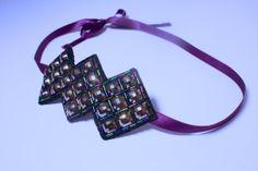 Embellished headband. Art deco style hairband. by SheSellsHeart, £25.00