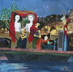 Denise Duong | THE SEINE | JRB Art at the Elms