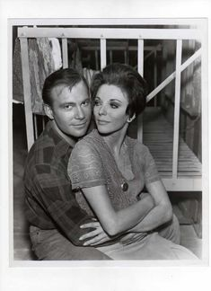 "Willliam Shatner and Joan Collins - Star Trek ""The City on the Edge of Forever"""