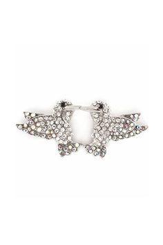 Hummingbird Earrings in Iridescent Crystal