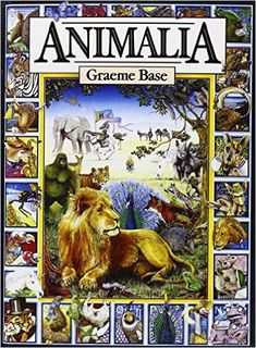 Animalia: Graeme Base: 9780810919396: Amazon.com: Books