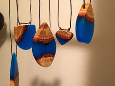 Quinn Z Shen: Glowing Wood Resin Jewelry - doubtful I'll ever get around to this. But nice to think I could...