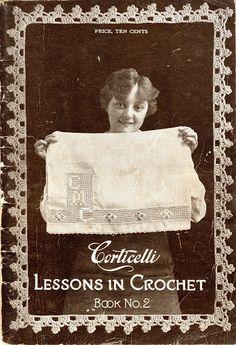 Corticelli. Lessons in Crochet Book No. 2. Florence, Mass., 1916 - Doris - Álbuns da web do Picasa