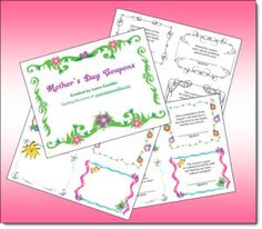 5th Grade Mothers Day  Mothers Day Activities Printable 3rd 5th Grade