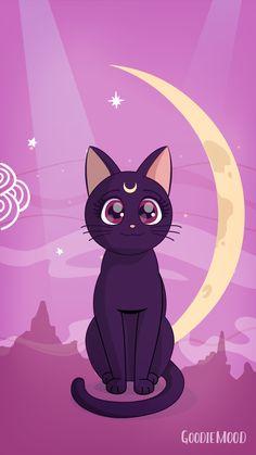 Cat Phone Wallpaper, Sailor Moon, Scooby Doo, Pikachu, Cats, Wallpapers, Fictional Characters, Mondays, Gatos