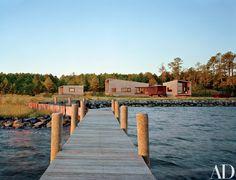 David Jameson Creates a Modernist Residence on Chesapeake Bay Photos | Architectural Digest