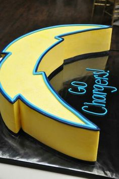 San Diego Chargers cake