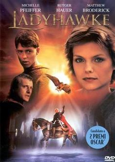 LadyHawke with Matthew Broderick, Rutger Hauer and Michelle Pfeiffer Old Movies, Great Movies, Love Movie, Movie Tv, Movies Showing, Movies And Tv Shows, Movies Worth Watching, Cinema Movies, Fantasy Movies