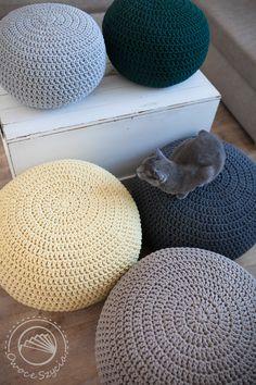 #pufy #crochet #pouf