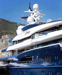 Close up on the 278ft (85m) 'SOLANDGE' Mega Yacht - @billionairepic cc: @billionairepic Photo by @yvangrubski via LUXURY LIFESTYLE MAGAZINE OFFICIAL INSTAGRAM - Luxury Lifestyle Culture Travel Tech Gadgets Jewelry Cars Gaming Entertainment Fitness