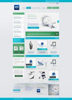 Web design - KPI Georgia by ~Tngabor
