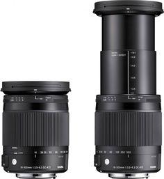 Sigma 18-300mm DC Macro OS HSM Contemporary (C) lens f/3.5-6.3