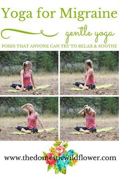 Yoga For Migraine: Yoga Pose to Soothe