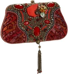 Mary Frances ~ Ruby Tuesday evening bag