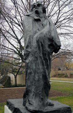 Monument to Balzac (1891–1898), by Auguste Rodin. Bronze.