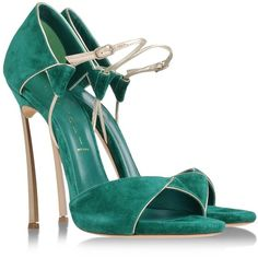 CASADEI Sandals ($554) ❤ liked on Polyvore featuring shoes, sandals, heels, scarpe, high heels, platform sandals, platform heel sandals, casadei sandals, spiked heel shoes and leather shoes