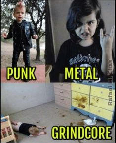Heavy Metal Memes by Metalhead Community You are in the right place about Musical Band alternative Here we offer you the most beautiful pictures about the Musical Band aesthe Iron Maiden, Metal Memes, Metal Music Quotes, Mode Rock, Crust Punk, Metal T Shirts, Music Humor, Band Memes, Thrash Metal