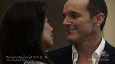 Coulson and May on 'Marvel's Agents of S.H.I.E.L.D.'