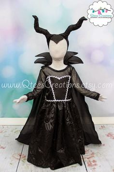 Our own 4 year old maleficent maleficent costumes and halloween maleficent inspired horns diy tutorial solutioingenieria Images