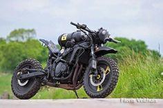 Post apocalyptic rat bike