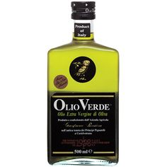 Olio Verde Olive Oil- a lush, unfiltered green-gold oil leaving impressions of almond and hay. Drizzle on grilled fish and bruschetta!