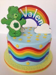 Care bear cake for Cam's St Patrick Birthday