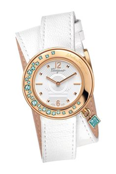 Ferragamo | Ferragamo Women's Stainless Steel Wrap Watch | Nordstrom Rack