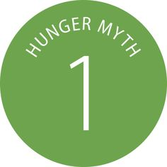 There is a stark contrast between the widely held myths and realities about hunger.