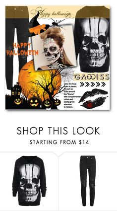 """Halloween with Gamiss"" by tanja133 ❤ liked on Polyvore featuring AMIRI"