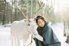 «Фотоидеи»: 30 зимних образов реальных невест