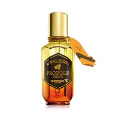 - Black Bee Propolis & Royal Jelly Extract Contained Powerful Nourishing Facial Essence, Skin Moisturizing & Radiant Korean Cosmetics Online, Cosmetics Online Shopping, Bee Propolis, Black Bee, Asian Skincare, Me Time, Cosmetic Packaging, Skin Food, Makeup Cosmetics