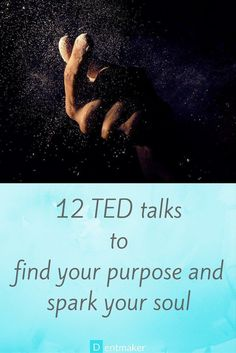 12 TED talks to find your purpose and spark your soul. While you embark on your journey to self-discovery, here are some amazing TED talks for soul searching, that you'd want to draw inspiration from. Ted Talks, Soul Searching, Self Discovery, Life Purpose, Purpose Quotes, Finding Purpose, Self Development, Personal Development, Best Self