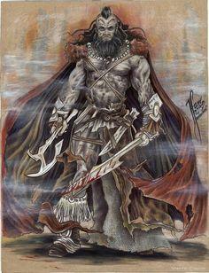 The Barbarian | Artist: Tehani Farr