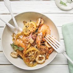 Inspired by the classic Italian appetizer of fritto misto, a mixed fry with a kaffir lime twist.